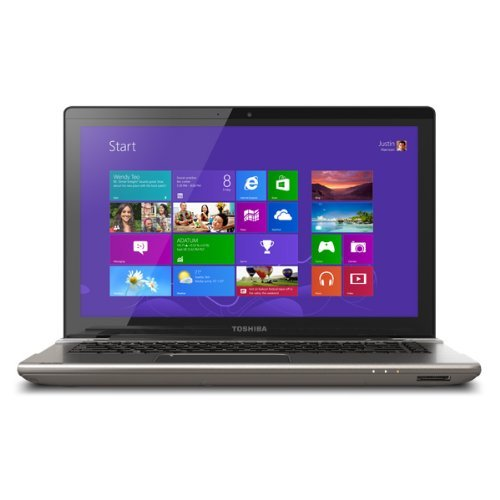 "Toshiba Satellite 14"" P845T-S4305 3Rd Generation I3-3217U Touch-Screen Laptop, 4Gb Memory - 500Gb Hard Drive - Prestige Silver"