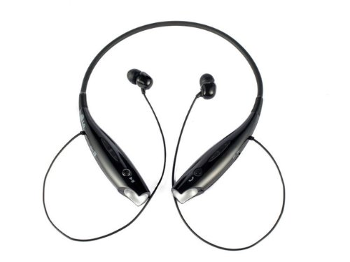 Nuoya001 Brand New Tone + Hbs-730 Black Wireless Bluetooth Universal Stereo Headset