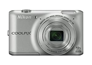 Nikon COOLPIX S6400 16 MP Digital Camera with 12x Optical Zoom and 3-inch LCD (Silver)