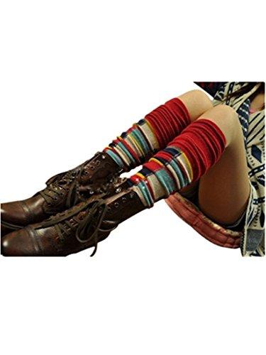 knitted-fleece-knee-high-boots-socks-leg-warmers-ysw83-2
