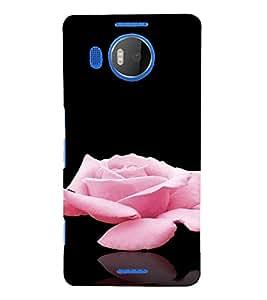 PrintVisa Rose Design 3D Hard Polycarbonate Designer Back Case Cover for Nokia Lumia 950 XL