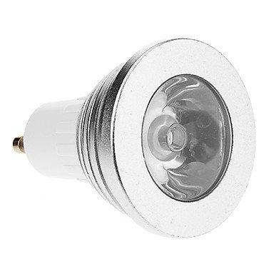 Gu10/E27/E14 3W Rgb Light Led Spot Bulb With Remote Control (Ac 85-265V)