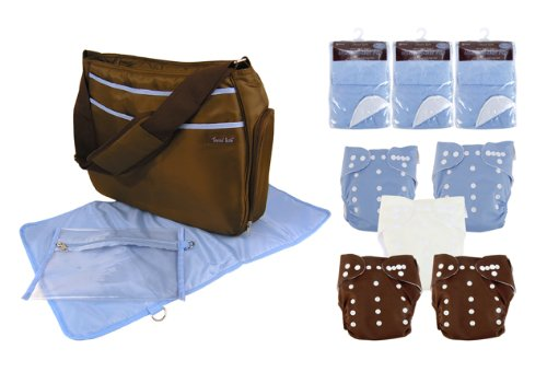 Trend Lab Cloth Diaper Starter Kit, Boys