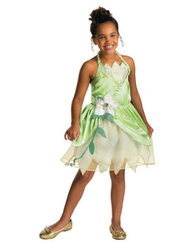 Princess Tiana Classic Md Kids Girls Costume