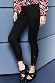 Limited Collection Side Button Leggings [T69-3350F-S]
