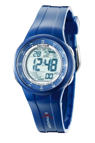 Expander Street Damenuhr Armbanduhr Digital Uhr Chronograph Blau R3251172815