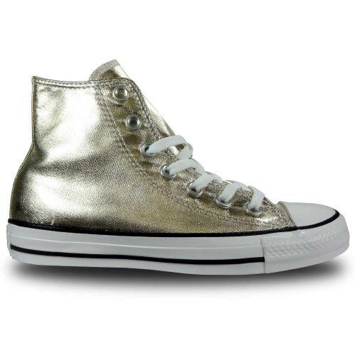 Converse Mandrini oro 153178C stagionali Metallics Light Gold Bianco Nero, Converse Schuhe Unisex Sizegroup 10:37