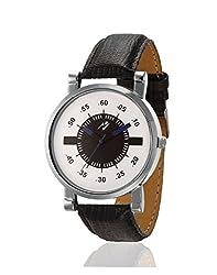 Yepme Philmon Mens Watch - White/Black -- YPMWATCH2104