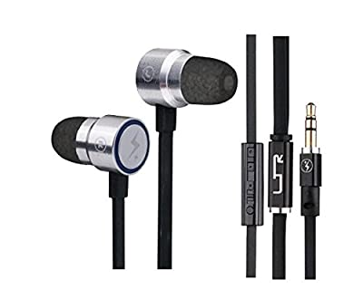 Over The Top Services Sports Earbuds - Model gs27 The Logan Collection 4th Generation Stereo Headset - Noise Reduction - Custom Fitting Comply Foam Ear Tips (S400 Active Series) - Active Sports Earphone Users - Runners, Joggers, Intense Exercise - All Day