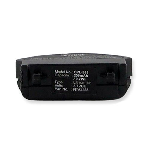 Bose Nta2358 Cordless Phone Battery 3.7 Volt, Li-Ion 200Mah - Replacement For Bose Qc3