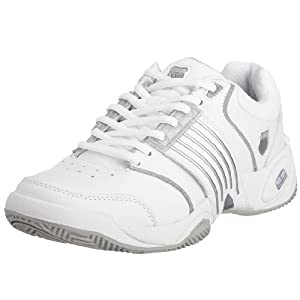 K-Swiss Accomplish LS 91805-147-M, Damen Tennisschuh, Weiß (White / Platinum), 35.5 EU / 3 UK