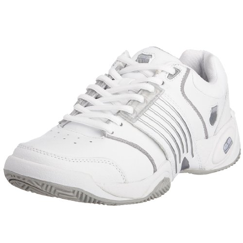K-Swiss Women's Accomplish Ls White/Platinum Tennis Sports Shoes 91805-147-M 6.5 UK