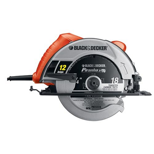 41OK SE%2BeIL Black & Decker CS1030L 13 Amp 7 1/4 Inch Laser Circular Saw with Soft Grips