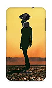 Amez designer printed 3d premium high quality back case cover for Coolpad Note 3 (Tycho art sun man music)