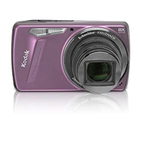 Kodak EasyShare M580 14MP Digital Camera with 8x Wide Angle Optical Zoom and 3.0 Inch LCD (Pink)