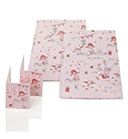 Emily Button™ Birthday Wrapping Paper with Gift Tags