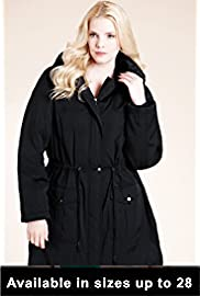 Lady Wearing Plus Size Dressy Jacket