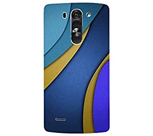 perfect print Back cover for LG G3 beet