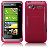 Terrapin HTC Radar TPU Gel Case By - Hot Pink
