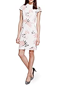 Floral Shift Dress [T69-2315J-S]