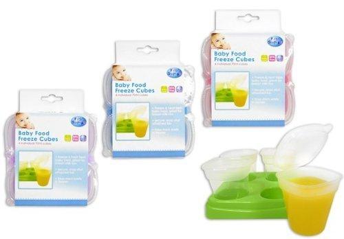 Baby-Lebensmittel-Aufbewahrung-Blumentpfe-Tablett-Wrfel-Aufbewahrungs-Gefrierschrank-GRN