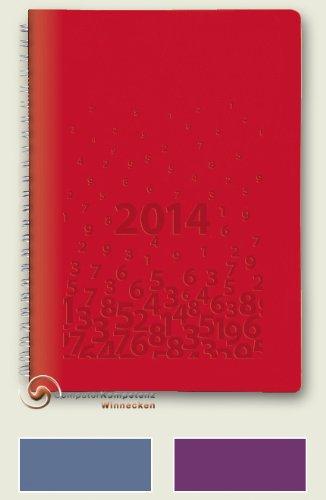 Brunnen Buchkalender 2014 Risorto Leder Spiralbindung A5 14,8x21 Kalender 2014