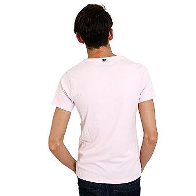 wjk(ダブルジェイケイ) ドライVネックTシャツ 半袖(ライトピンク)/wjk 1mile/メンズ≫T02 C026-41 [ウェア&シューズ]