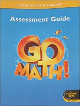 Go Math!: Assessment Guide Grade K: HOUGHTON MIFFLIN ...