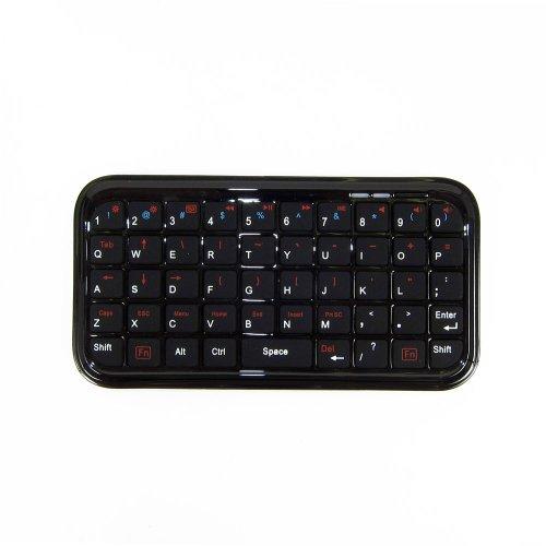 サンコ- 無線式ミニキーボード内蔵iPhone革ケース WLSPH4GR