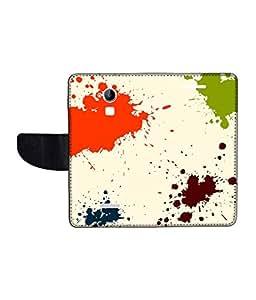 KolorEdge Printed Flip Cover For CoolPad Dazen Note 3 Multicolor - (1479-55KeMLogo12167DazenNote3)