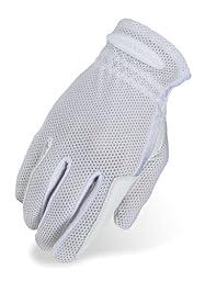 Heritage Pro-Flow Summer Show Glove, White, Size 11