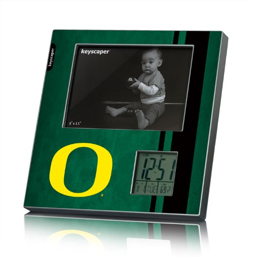 Oregon Ducks Picture Frame And Desk Clock Fifty7 Ncaa