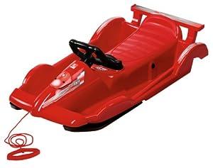 Alpen Race Junior Sledge - Red