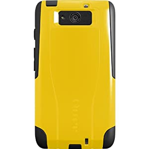 OtterBox Commuter Series Case for Motorola DROID Ultra - Retail Packaging - Yellow/Black