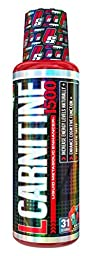 PRO SUPPS L-Carnitine 1500 Supplement, Blue Razz, 16 Ounce