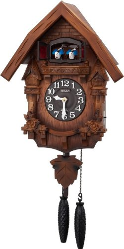 CITIZEN (シチズン) 本格的ハト時計 カッコーテレスF 4MJ236-N06 4MJ236-N06