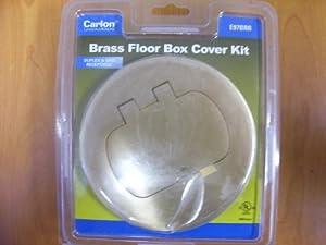 Thomas & Betts E97brr Floor Box Kit, Brass