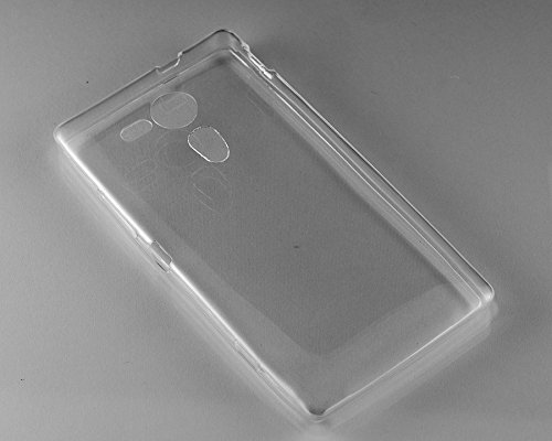 Purple Eyes Generic Crystal Clear Transparent Silicon Back Case Cover Pouch For Sony Xperia Sp M35H