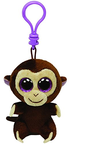 Ty Beanie Boos - Coconut-Clip the Monkey - 1
