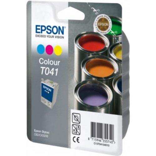 Epson C13T04104010 Cartouche d'encre color pour Stylus C 62/CX 3200