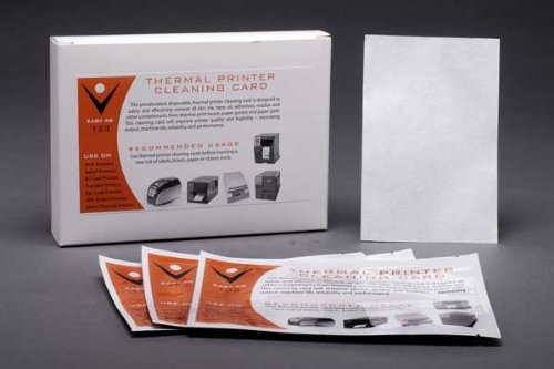 25pk Dollar Bill Validator / Acceptor Pre-saturated Cleaning Card