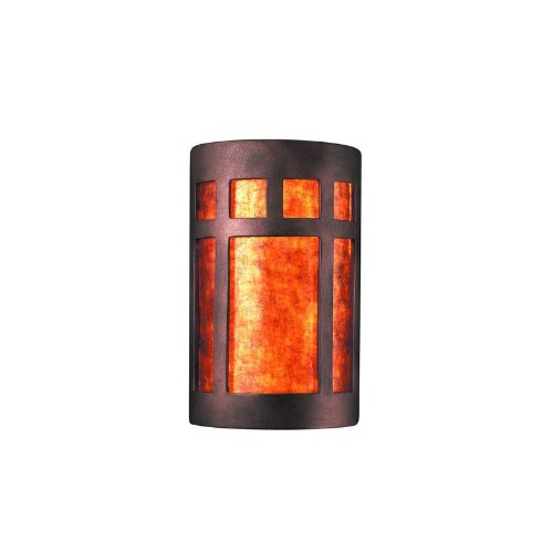 Justice Design Group Ambiance Carrara Marble Large Prairie Window Two Light Bathroom Wall Sconce Ricasruglovasdwqass