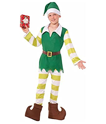 Big Boys' Jingles the Elf Christmas Costume