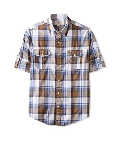 Timberland Men's Checked Long Sleeve Shirt