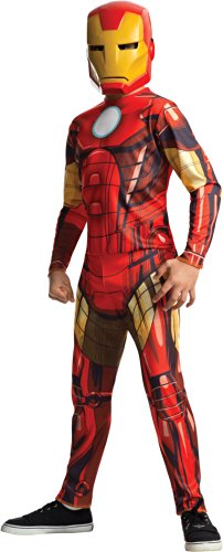 Rubies Marvel Universe Classic Collection Avengers Assemble Iron Man Costume, Child Small (Iron Man Kids Costume compare prices)