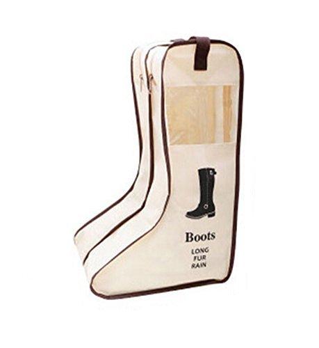 Nasis 2 Packs Sac À Bottes/Chaussures Housse De Rangement Portable Pour Voyage Anti-poussière AL8115