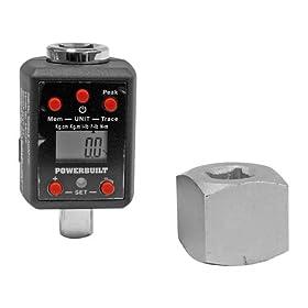 Alltrade 940759 Powerbuilt Digital Torque Adaptor for 1/2-Inch Driver