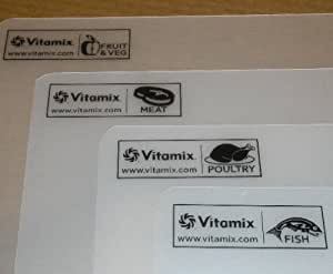 Vitamix Flexible Cutting Board 4- Piece Set.
