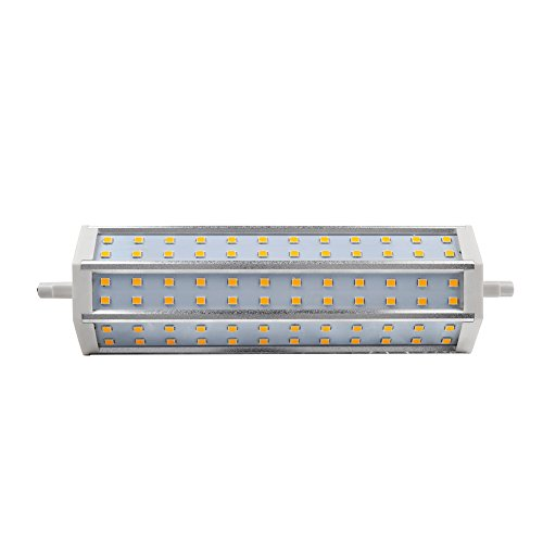 6Pcs High Quality R7S 72Leds Smd2835 Led Floodlight Replacement Lamp - Warm White - 14W 1296Lm