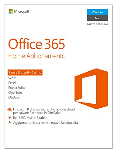 Microsoft MS Office 365 Home [IT] 1Y Subscr.P2